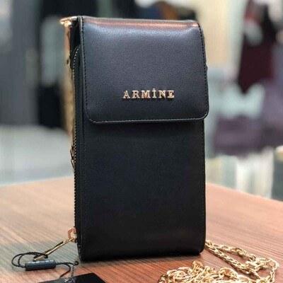 - Armine Dik El Çantası Siyah/7013