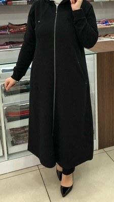 - Fitilli Örme Kumaş Kap Siyah/B60078