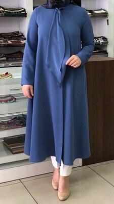- Flarlı Tunik Mavi / 5749