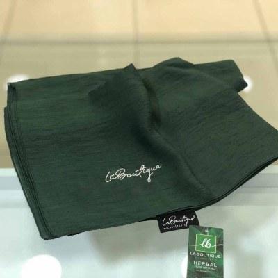 - La Boutique Bitkisel Yazlık Şal / Nefti Yeşili